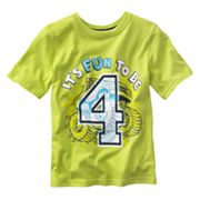 Jumping Beans It's Fun to be 4 Birthday Tee - Boys