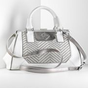 Simply Vera Vera Wang Serena Chevron Convertible Satchel
