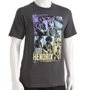 Hendrix Guitar Shots Tee - Men