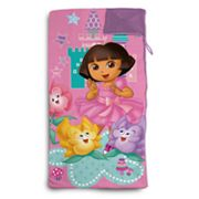Dora the Explorer Sleeping Bag and Sackpack Set