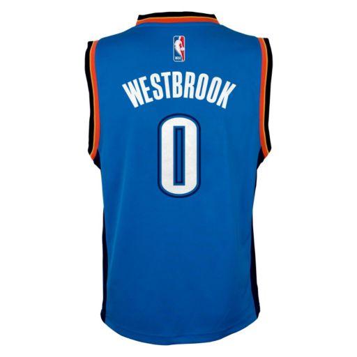 adidas Oklahoma City Thunder Russell Westbrook Jersey - Boys 8-20