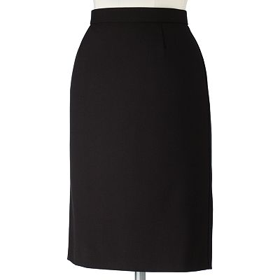 Sag Harbor Slimming Solution Pencil Skirt