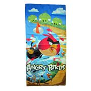 Angry Birds Cliff Hanger Beach Towel