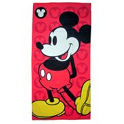 Disney Mickey Mouse Classic Icons Beach Towel