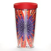 Tervis Molly Z. Red and Purple Burst 16-oz. Tumbler