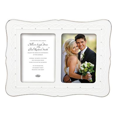 Lenox Bliss 5'' x 7'' Double Invitation Frame