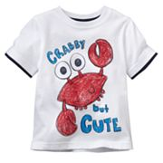Jumping Beans Crab Mock-Layer Tee - Baby