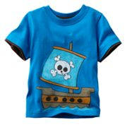 Jumping Beans Mock-Layer Ship Tee - Baby