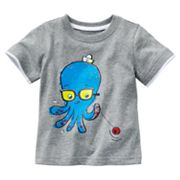 Jumping Beans Mock-Layer Octopus Tee - Baby