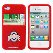 iFanatic Ohio State Buckeyes iPhone 4/4S Callet Silicone Case