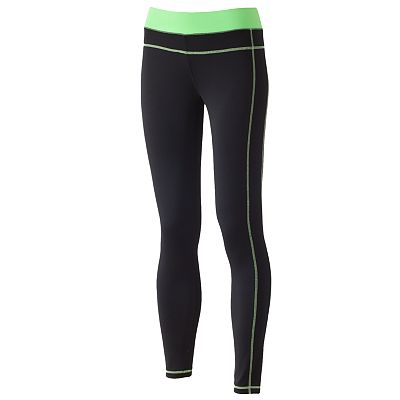 Energie Contrast Skinny Active Pants - Juniors