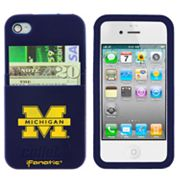 iFanatic Michigan Wolverines iPhone 4/4S Callet Silicone Case