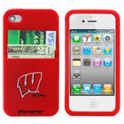 iFanatic Wisconsin Badgers iPhone 4/4S Callet Silicone Case