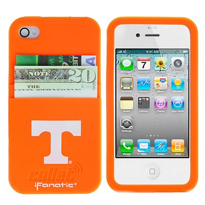 iFanatic Tennessee Volunteers iPhone 4/4S Callet Silicone Case