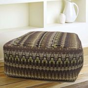 Irish Lace Pouf