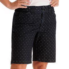 Lee Hazel Dot Comfort Waist Bermuda Shorts