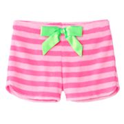 SO Neon Striped Pajama Shorts - Girls 7-16