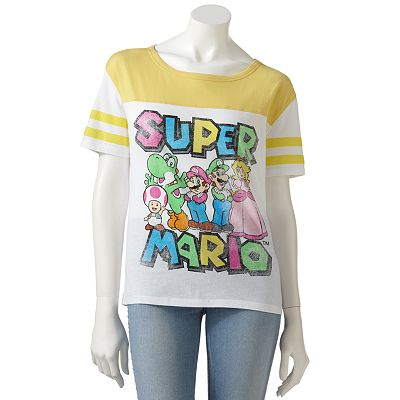Freeze Super Mario Tee - Juniors