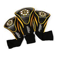 Team Golf Boston Bruins 3 pc Contour Head Cover Set