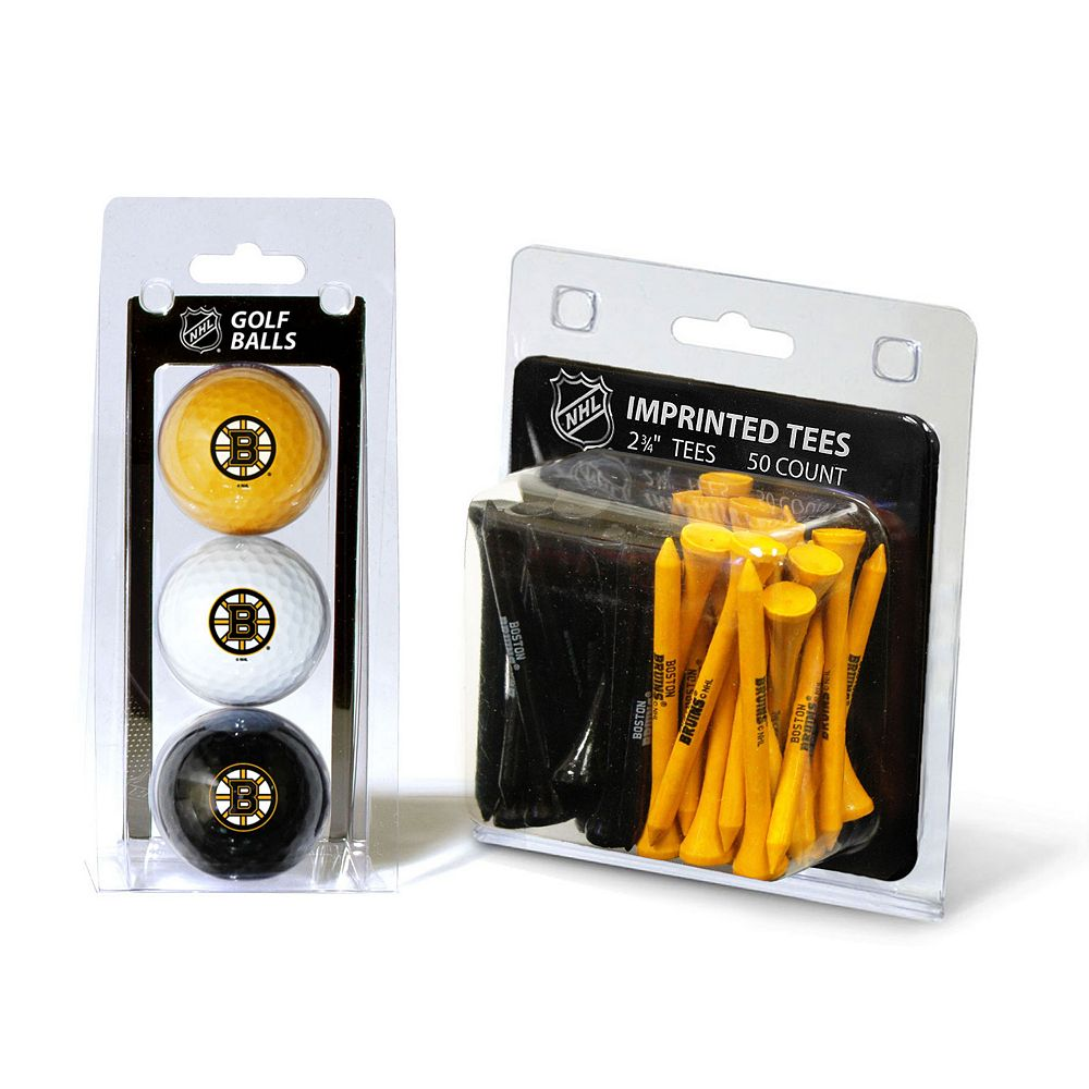 Team Golf Boston Bruins Ball & Tee Set