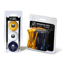 Team Golf Buffalo Sabres Ball & Tee Set