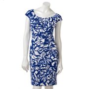 Ronni Nicole Printed Empire Sheath Dress