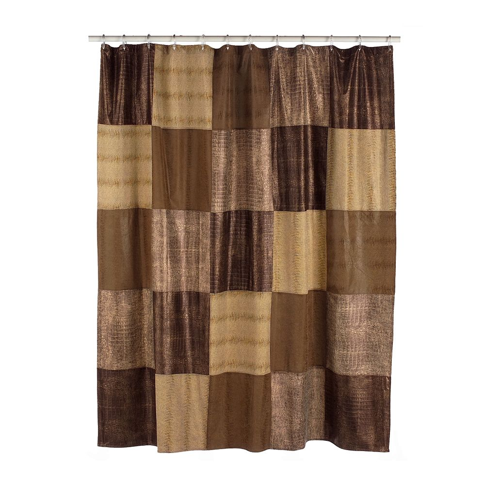 Classics® Wild Patch Fabric Shower Curtain