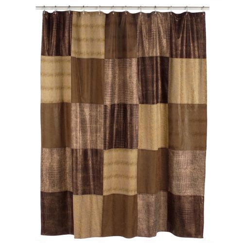 Home Classics® Wild Patch Fabric Shower Curtain