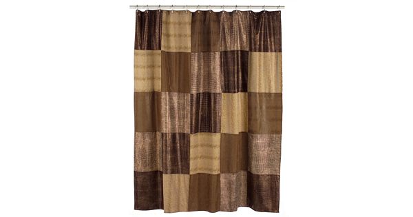 Home Classics 174 Wild Patch Fabric Shower Curtain
