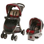 Graco FastAction Fold Travel System - Finley