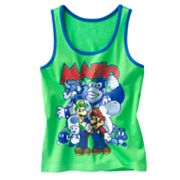 Super Mario Brothers Group Tank - Boys 4-7