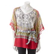 Jennifer Lopez Scroll Caftan Top