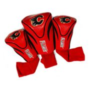 Team Golf Calgary Flames 3-pc. Contour Head Cover Set