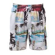 Croft and Barrow Cool Breeze Swim Trunks - Big and Tall