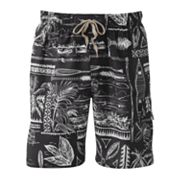 Croft and Barrow The Journey Swim Trunks - Big and Tall