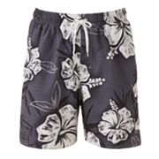 Croft and Barrow Vacation Getaway Swim Trunks - Big and Tall