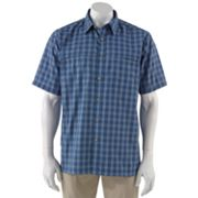 Arrow Double-Pocket Traveler Plaid Performance Casual Button-Down Shirt