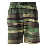 SONOMA life + style Safari Stripe Volley Shorts - Big and Tall
