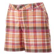 SONOMA life + style Original Fit Essential Plaid Twill Shorts