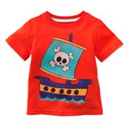 Jumping Beans Mock-Layer Pirate Ship Tee - Baby