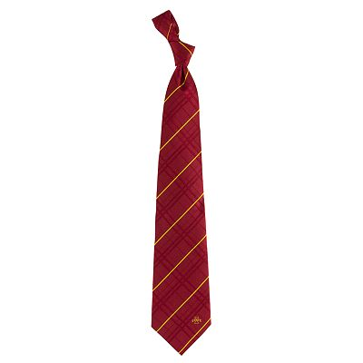 Iowa State Cyclones Oxford Silk Tie - Men