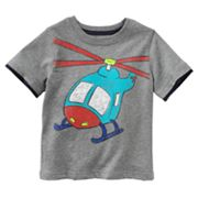 Jumping Beans Mock-Layer Helicopter Tee - Baby
