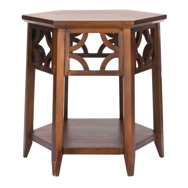 Safavieh Connor End Table, Brown