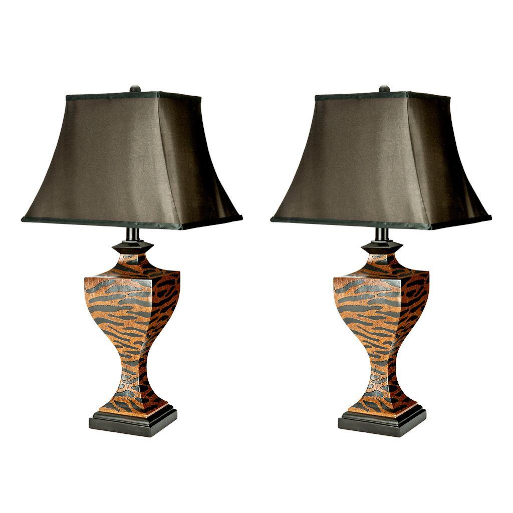 Safavieh Sahara Safari 2-pc. Table Lamp Set