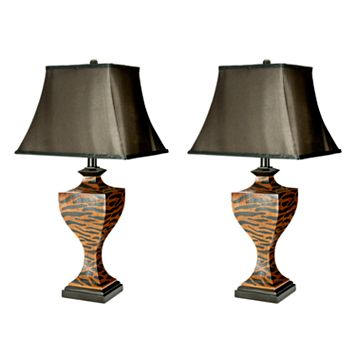 Safavieh Sahara Safari 2-pc. Table Lamp Set