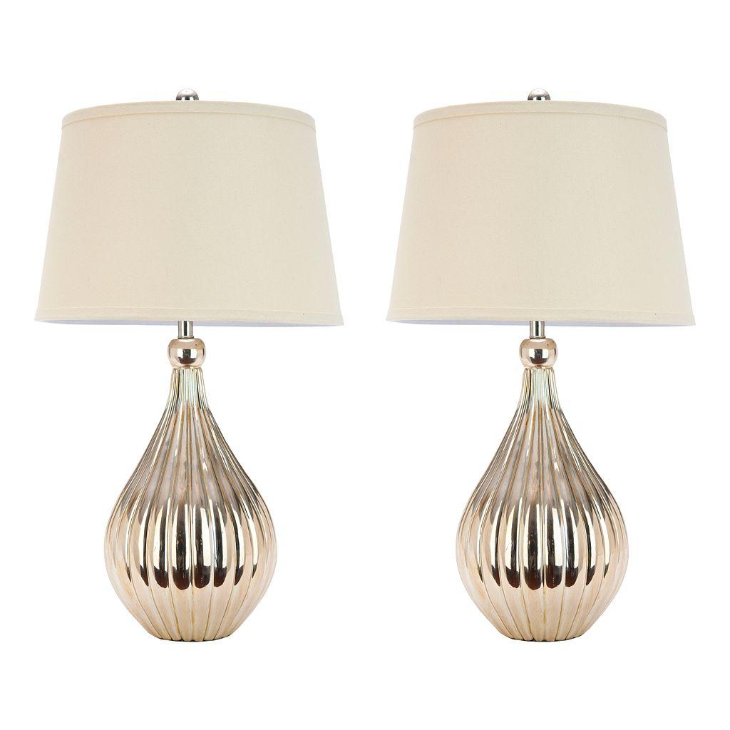 Safavieh Elli 2-pc. Table Lamp Set