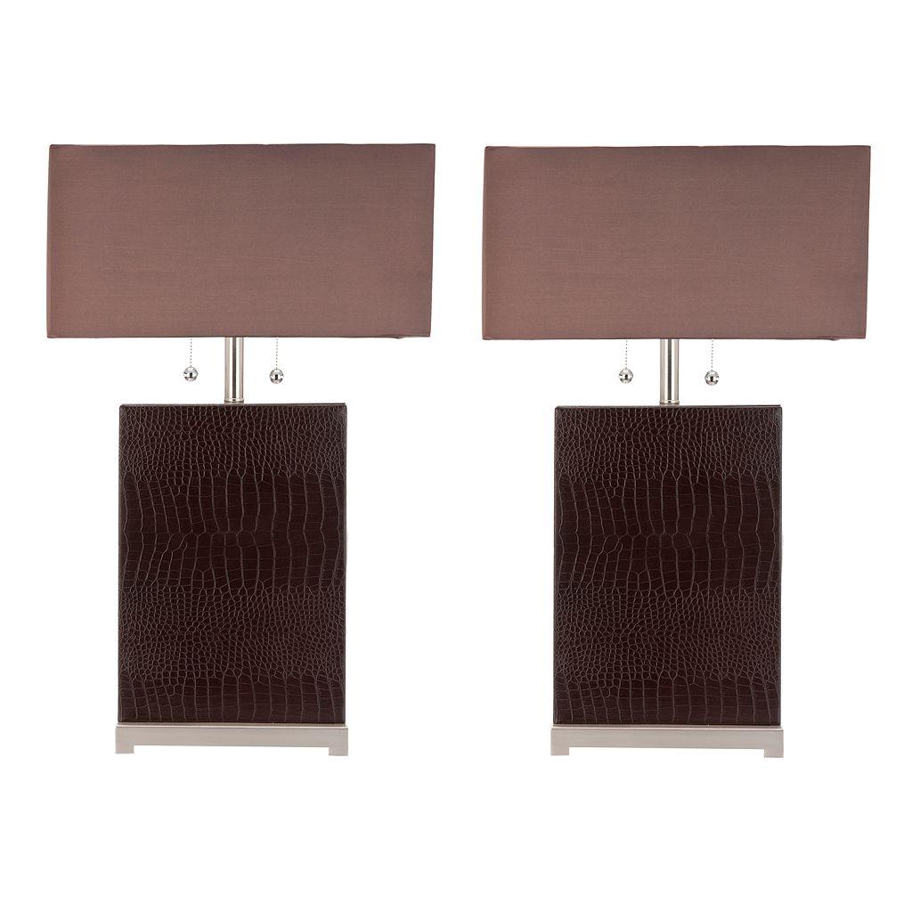 Safavieh Cheryl 2-pc. Table Lamp Set