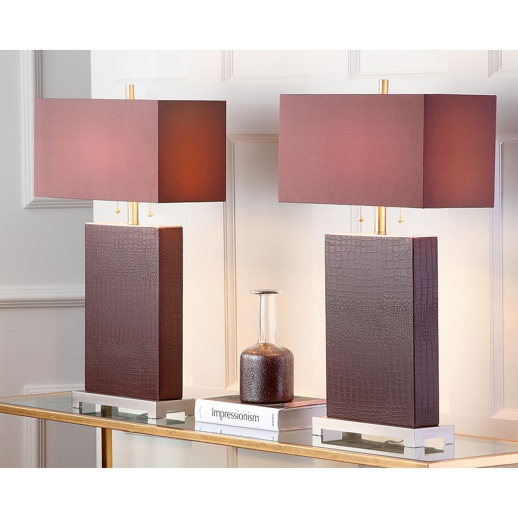 Safavieh Cheryl 2-pc. Table Lamp Set