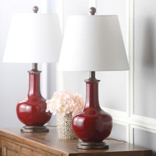 Safavieh Carolanne 2-pc. Table Lamp Set