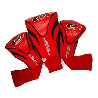 Team Golf Carolina Hurricanes 3 pc Contour Head Cover Set